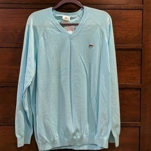 Men's Lacoste cotton sweater XXL.